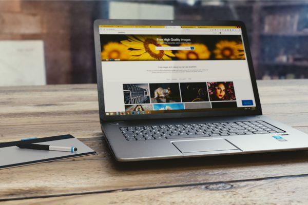 Computer hjemmeside