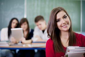 pige der er studerende
